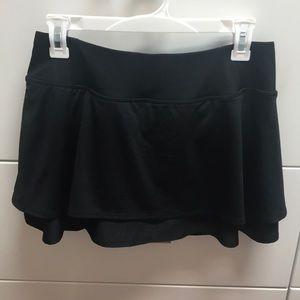Athleta tennis skirt NWOT Black size small
